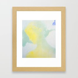 "Odilon Redon ""Beatrice"" Framed Art Print"