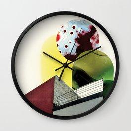 Parallel Doorway Wall Clock