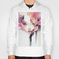 flower Hoodies featuring Bauhinia by Anna Dittmann