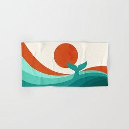 Wave (day) Hand & Bath Towel
