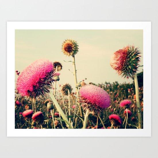 Flower World! Art Print
