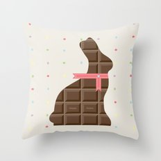 Happy Hunting Throw Pillow