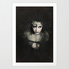 Queen of Shadows Art Print
