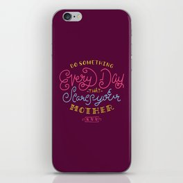 Scare Your Mother iPhone Skin