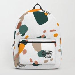 Modern Terrazzo Fall Vibes Backpack
