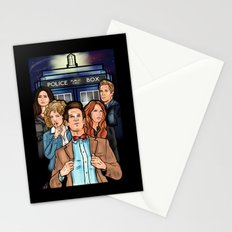 My Doctor and His Posse Stationery Cards