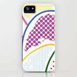 Whimsical Lumps iPhone Case