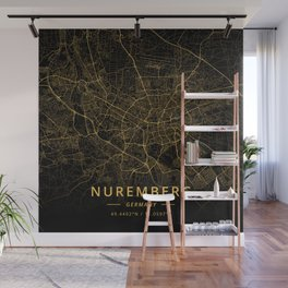 Nuremberg, Germany - Gold Wall Mural