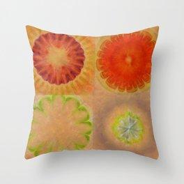 Nontransmittal Sense Flower  ID:16165-112135-50620 Throw Pillow