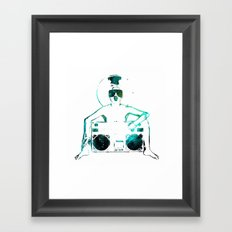 ART, POP, TECH Framed Art Print
