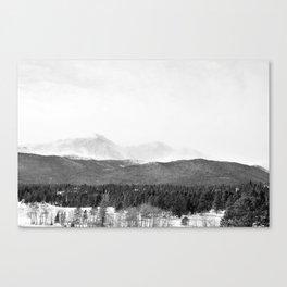 Peak III Canvas Print