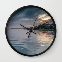 Cottage Life Wall Clock