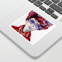 Judy by Varda Levy Sticker