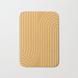 Minimal Line Curvature VIII Bath Mat