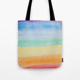 Chakra Watercolor Tote Bag
