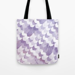 Abstract Geometric Cubes Design Tote Bag