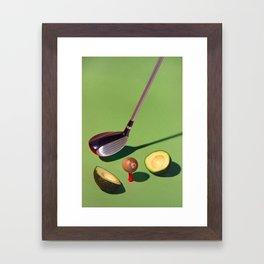 Fore! Framed Art Print