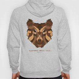 California Grizzly Bear Hoody