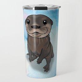 Otter Cuteness Travel Mug