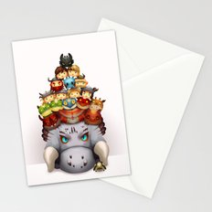 Little Dragons Stationery Cards