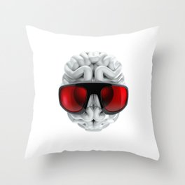 Keep a Cool Mind Throw Pillow