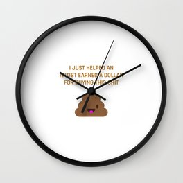 Help an Artist Wall Clock
