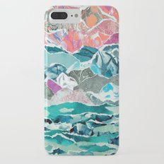 Abstract Collage Landscape iPhone 7 Plus Slim Case