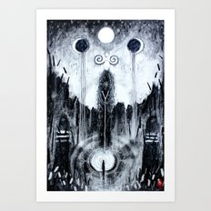 Encountering The Unseen Art Print