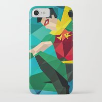 dc comics iPhone & iPod Cases featuring DC Comics Robin by Eric Dufresne