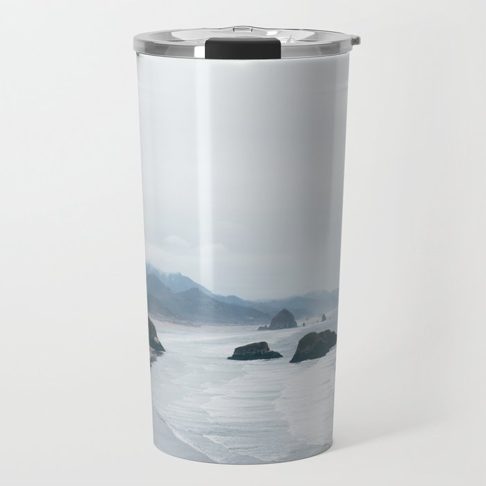 Cannon Beach, OR. Travel Mug