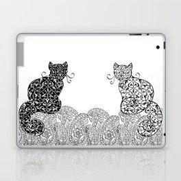 Black Cat White Cat Laptop & iPad Skin