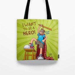 Hero Boy Tote Bag