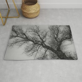 Lungs of the Earth | Nature Photography | Weeping Willow | Black and White | black-and-white | bw Rug