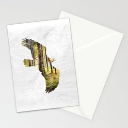 Soar Like An Eagle. Stationery Cards