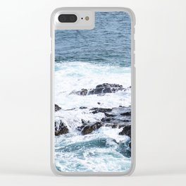 tidepools Clear iPhone Case