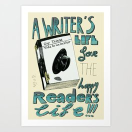 Happy readers Art Print