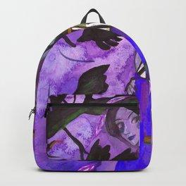 Raven Witch - Dark Violet Backpack