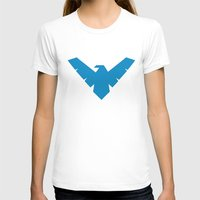 nightwing T-shirts featuring Minimal Superheroes - Nightwing by AlexR56