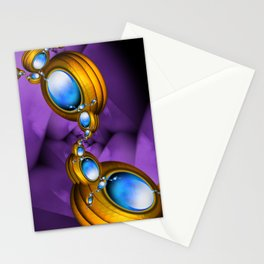 Jewelry for Alien Insects Stationery Cards