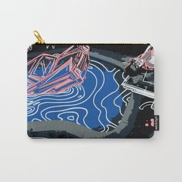 Pastel Pink Death of a Bachelor Carry-All Pouch
