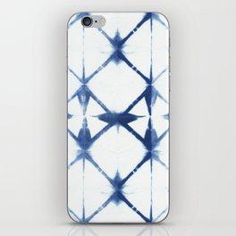 Shibori Diamonds iPhone Skin