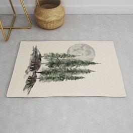 Full Moon Rising Rug