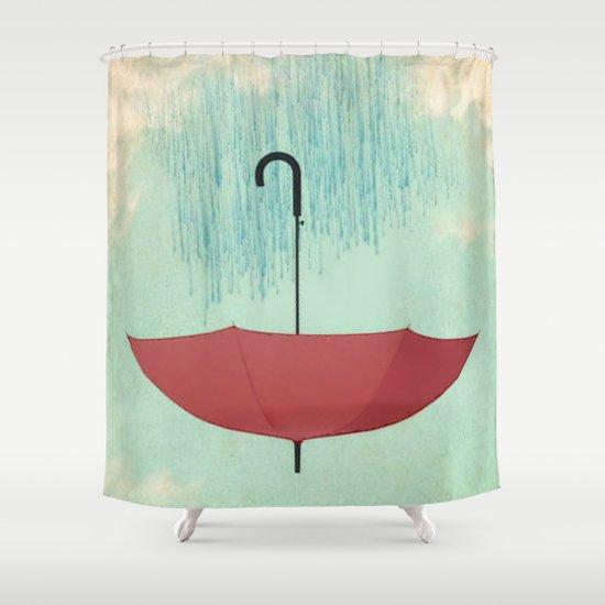 Saving the Rain Shower Curtain