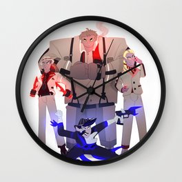 Mafia gang Wall Clock