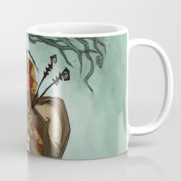 Creature Comforts: Mothman & his Cat Coffee Mug