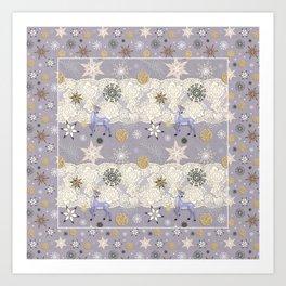 Flake&Lace (Parma) Art Print