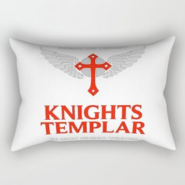 Knights Templar motto / The crusader / In Hoc Signo Vinces / Army of Christ Rectangular Pillow