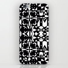 Black and White Square 3  iPhone & iPod Skin