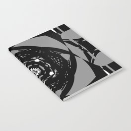 """Paranormal"" - (Original Digital Artwork by Vincent Ferraro) Notebook"
