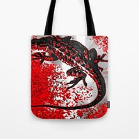 jenny liz rome Tote Bags featuring Liz by B.D.Meredith